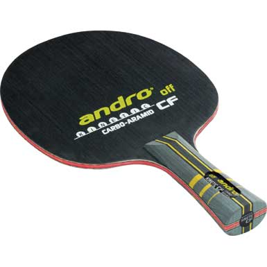 Andro Kinetic CF Carbo-Aramid OFF ping pong