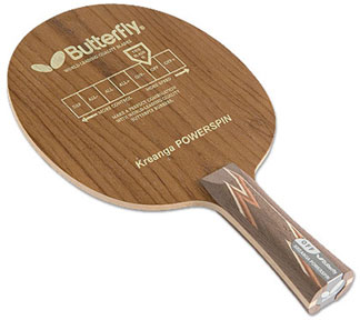 Butterfly Kreanga Powerspin ping pong