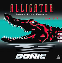 Donic Alligator Soft ping pong