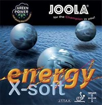 JOOLA Energy Green Power X-Soft ping pong