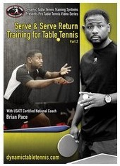 Dynamic Table Tennis Serve And Serve Return - Part 2 ping pong