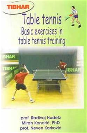 Tibhar Basic Exercises in Table Tennis Training ping pong
