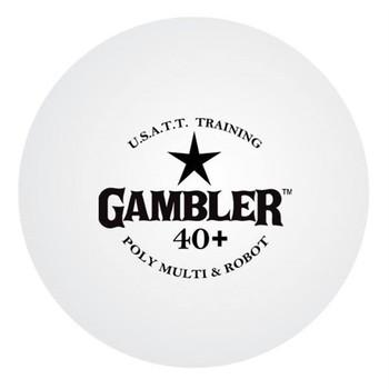 Gambler 40+ 1-Star Poly Training Ball