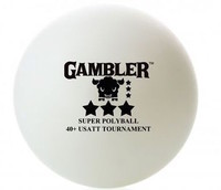 Gambler 40+ 3-Star Seamless Poly Ball