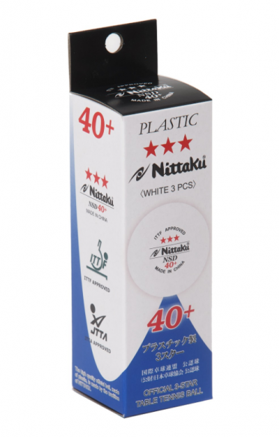 Nittaku NSD 40+ 3-Star Ball