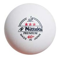 Nittaku Premium 40+ Poly Ball