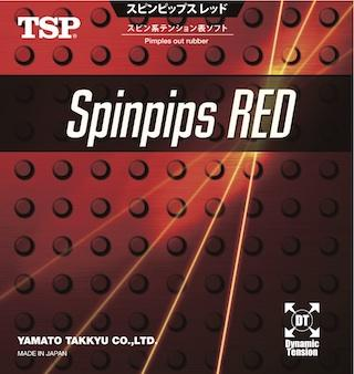 TSP Spinpips Red Pips
