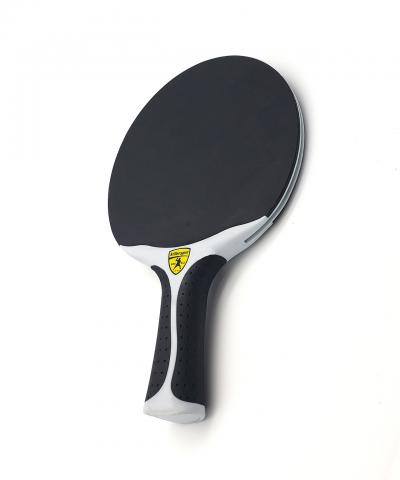 Killerspin Canvas Swirl Outdoor Black Premade Racket