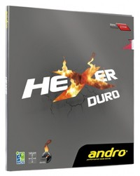 Andro Hexer Duro Rubber