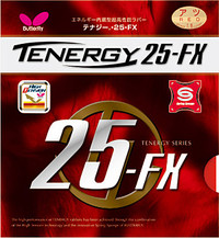 Butterfly Tenergy 25 FX Rubber