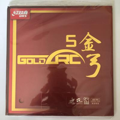 DHS Gold Arc 5 Rubber