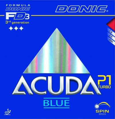 Donic Acuda Blue P1 Turbo Rubber
