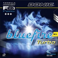 Donic Bluefire M1 Turbo Rubber
