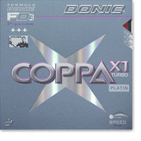Donic Coppa X1 Turbo Platin Rubber