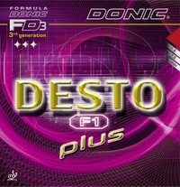 Donic Desto F1 Plus Rubber