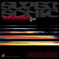 Donic Supersonic S40 Rubber