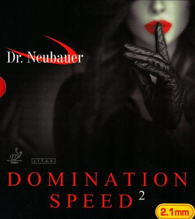 Dr. Neubauer Domination Speed 2 Rubber