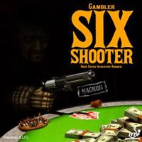 Gambler Six Shooter Magnum Rubber