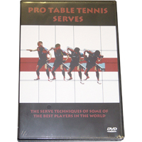 Alpha Pro Table Tennis Serves Training DVD
