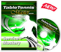 Table Tennis Master Service Mastery Training DVD